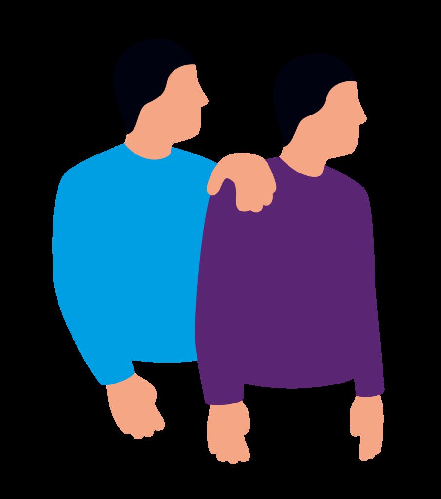 Symbol der Diakonie für Freiwilligendienste