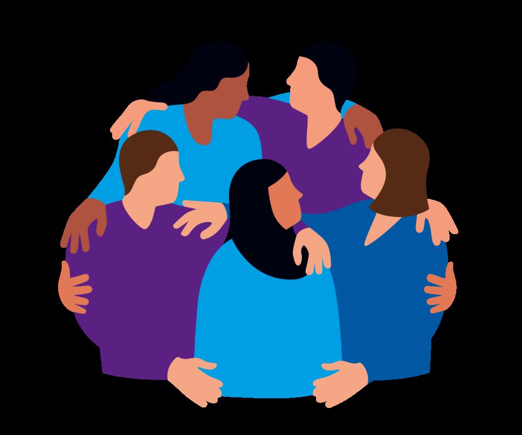 Symobl der Diakonie für Vielfalt und Begegnung